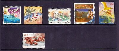 Selection of Christmas Island Stamps x 6 - used