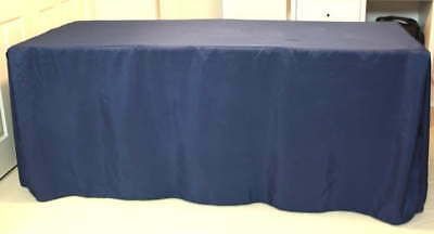 """REDUCED 6' X 30"""" X 30"""" Trade-Gift-Crafts Show  4-Sided Fitted Tablecloths"""