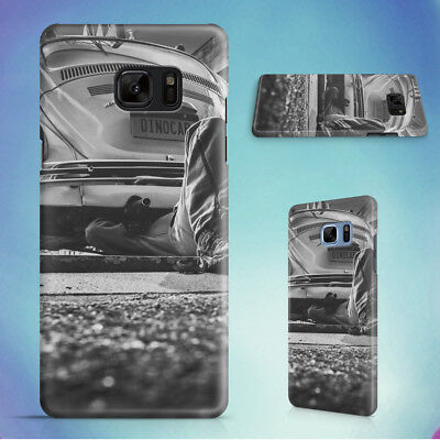 Black And White Car Vehicle Vintage Hard Case For Samsung Galaxy S Phones