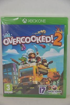 X1 XBox One X Overcooked! 2 Overcooked Over Cooked Over cook (EUR,CHI/ ENG/ JAP)
