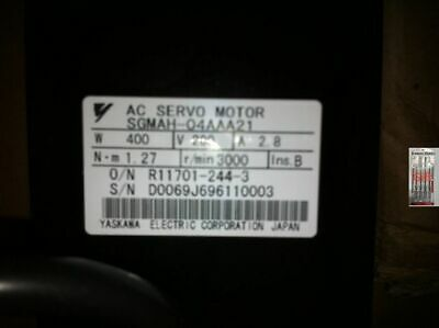 Yaskawa Servo motor SGMAH-04AAA21 NEW IN BOX !! **via DHL or EMS*