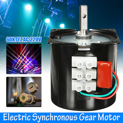 AC 220V 60RPM A60KTYZ Gear-Box Electric Synchronous Motor Speed Reducing Torque