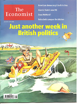 The Economist 14th - 20th July 2018 Economics & Current Affairs Weekly