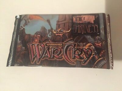 WarCry Siege of Darkness - Sealed Booster Pack - CCG TCG Cards EN Warhammer