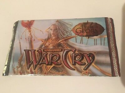 WarCry Path of Glory - Sealed Booster Pack - CCG TCG Cards EN Warhammer
