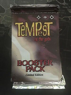 Tempest of the Gods - Sealed Booster Pack - CCG TCG Cards