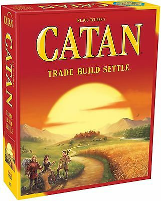 2018 New Settlers of Catan Board Game 5th Edition - Extension for 5-6 Players