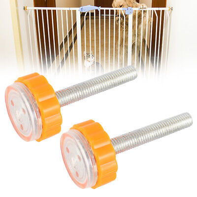 Baby Safety Stairs Gate Screws/Bolts with Locking Nut Spare Part Accessories US