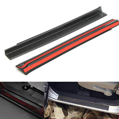 2Pcs/Set Door Sill Entry Guard  Protection Fit For Jeep Wrangler JK 2007-2016