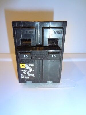 Square D Homeline 30-Amp 2-Pole Double-Pole Circuit Breaker HOM230
