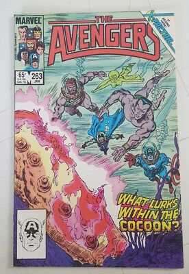 The Avengers #263 (Jan 1986, Marvel) Black Knight Captain America