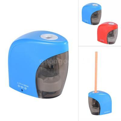 Automatic Electric Pencil Sharpener USB or Battery Operated with USB Cable S0D5