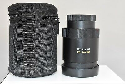 Leica 32x WW Wide Eye Piece for Leica Televid 77 and 62 Scope