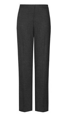 David Luke ECO Girls 29 Regular Fit School Trouser - NEW