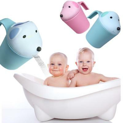 Baby Spoon Shower Bath Water Swimming Bailer Shampoo Cup Children's Kids Product