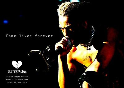 XXXTentacion Poster Retro Tribute #12 - Rapper - songwriter - A3 (420mm x 297mm)