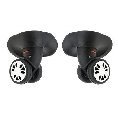 1 Pair Swivel Suitcase Luggage Casters Rollers Replacement Wheel Large Size