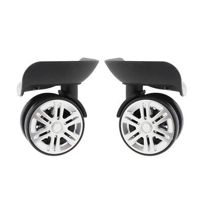 Universal Swivel Suitcase Luggage Casters Replacement Wheels Large Size