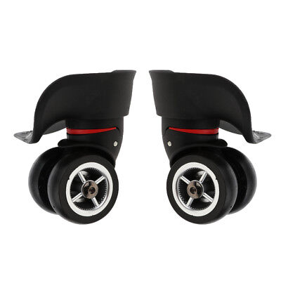 Universal Suitcase Luggage Silent Casters Replacement Wheels Large Size