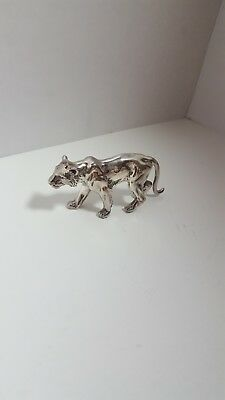 Panther figurine Sterling Silver