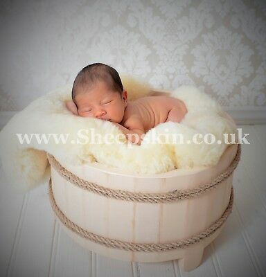 Baby Safe Sheepskin Rug For Cots/cribs