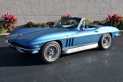 Corvette Fuel Injected 327CI 375HP 4-Speed 1 of 771 built 1965 Chevrolet Corvette Fuel Injected 327CI 375HP 4-Speed 1 of 771 built 0 Miles