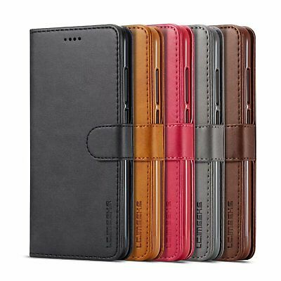 Magnetic Flip Leather Stand Cover Wallet Case For Huawei P9 /P9 Lite /P9 Plus AU