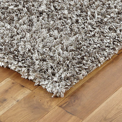 Soft Small Extra Large Grey Shiny Sparkle Feathers Shaggy Clearance Sale Rugs