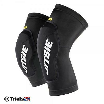 Jitsie Dynamik Short Knee Guards - Youth/Kids/Junior - Trials/Cycle/Offroad