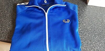 Fred perry track top medium