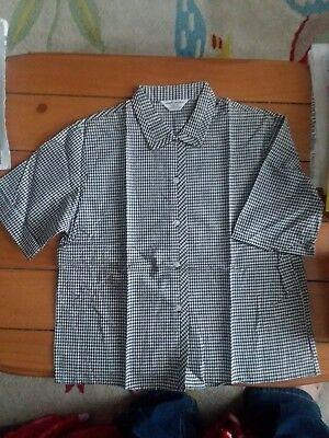 1950s 60s vintage shirt blouse OLD NEW STOCK