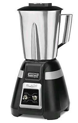 Waring bb300s Commercial Blade Series Stainless Bar Blender with Toggle - 48 Oz
