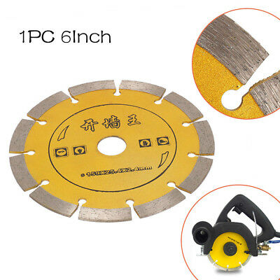 6 Inch Diamond Saw Blade Circular Cutting Disc For Ceramic Concrete Cutter Tool