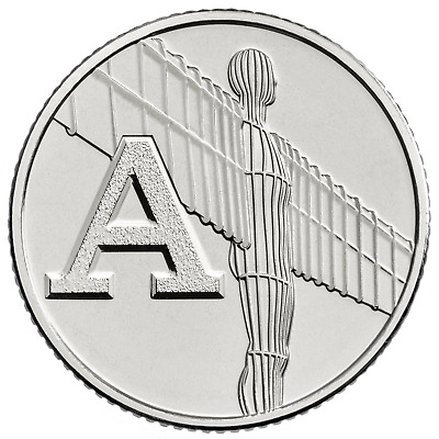 A to Z Ten Pence Silver Proof 10p Alphabet Choose Your Letter 2018