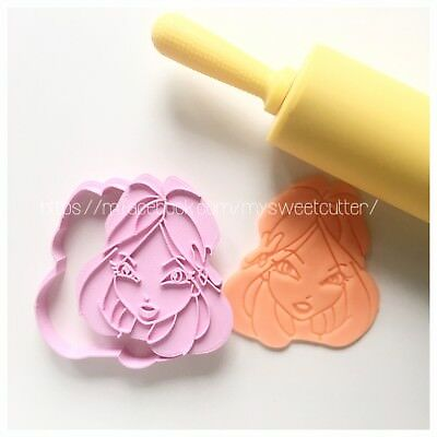 Formine Winx Bloom FORMINA BISCOTTI COOKIE CUTTER 7/8cm