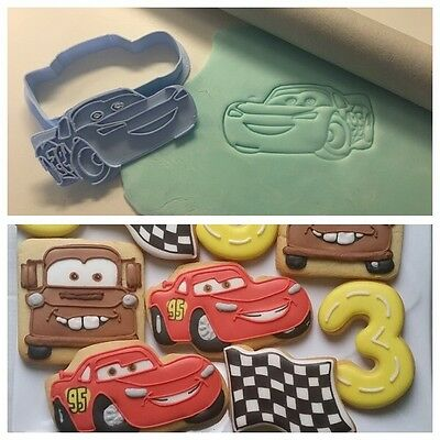 Formine Cars Mc Queen Macchina Formina Biscotti Cookie Cutter 7,5cm Lunghezza