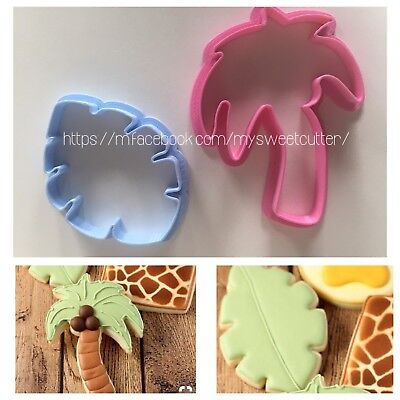 Formine Palma Foglia Tropicale Estate Set FORMINA BISCOTTI COOKIE CUTTER