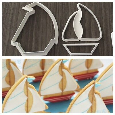 Formine Barca Vela Nave Boat Formina Biscotti Cookie Cutter Pdz 8 Cm