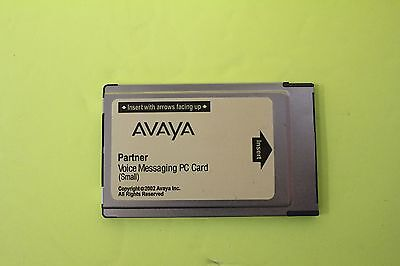 AVAYA / LUCENT Partner Voice Messaging PC Card  Small (4-Mailboxes)