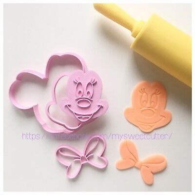 Formine Minnie 9cm Set FORMINA BISCOTTI COOKIE CUTTER