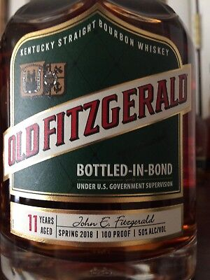 old fitzgerald decanter bottle 11yo