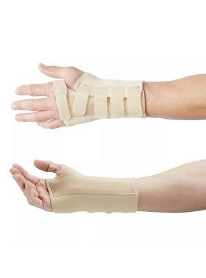Actesso Wrist Thumb Support Brace with metal wrist and thumb splint Extra Large