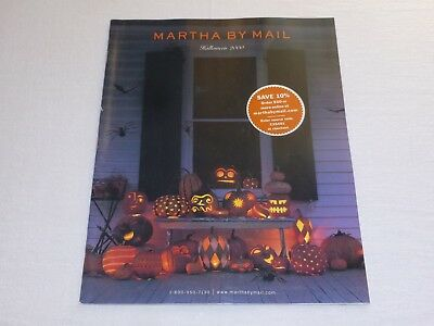 Martha By Mail catalog HALLOWEEN 2000 - Very Good Condition - Fall Craft Catalog