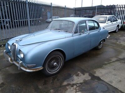 1965 Jaguar 3.8 S Type Lhd , Fantastic Solid Shell And Very Origional No Rust