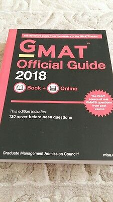 Gmat 2018 Official Guide