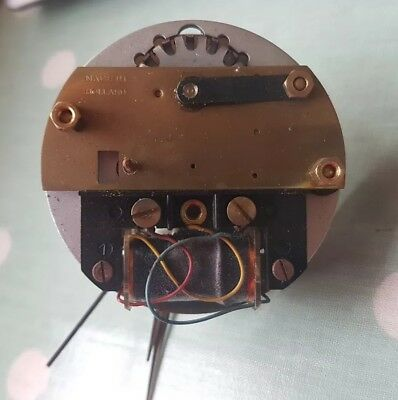 NUFA electric clock movement for spares or repair - see pictures and description