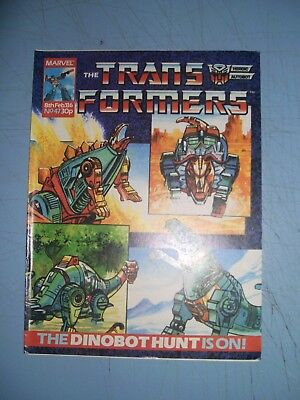 Transformers issue 47 Marvel UK 1986