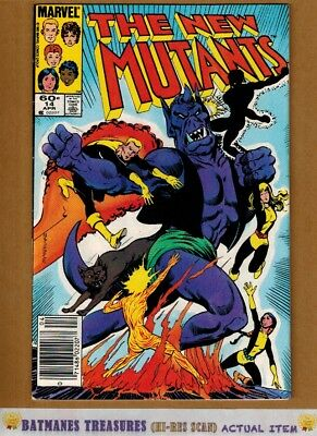 New Mutants #14 (8.5) VF+ 1st Magik Illyna Rasputin Appearance 1984 X-Men