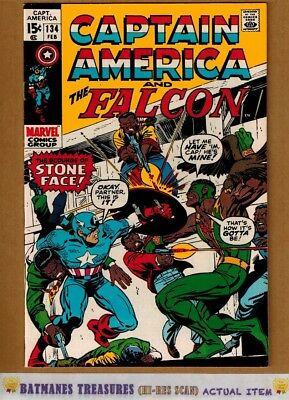 Captain America #134 (8.5) VF+ By Stan Lee 1971 Bronze Age Key Issue