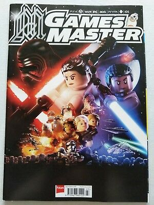 GamesMaster magazine #301 March 2016 (LEGO Star Wars: The Force Awakens)